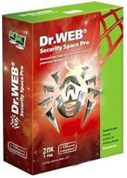 Dr.Web Security Space Pro, 12 мес на 2ПК (AHW-B-12M-2-A2)