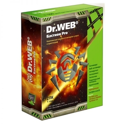Dr.WEB Security Space PRO + криптограф Atlansys Bastion 2 ПК на 12 мес (BHW-BR-12M-2-A3)
