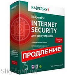 Программное обеспечение Kaspersky Internet Security Multi-Device 2014 Renewal (KL1941OUCFR) (2014,  32/ 64-bit,  Rus,  1pk DVD,  Продление,  BOX)