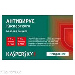 Программное обеспечение Kaspersky Anti-virus 2014 Renewal Card (KL1154OOBFR) (2014,  32/ 64-bit,  Rus,  Scratch Card,  Продление)