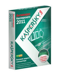 Kaspersky Anti-Virus 2011 Russian Edition. 2-Desktop 1 year Base DVD BOX (KL1137RXBFS)