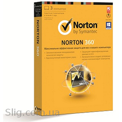 Программное обеспечение Symantec NORTON ANTIVIRUS (21247903) (2012,  32/ 64-bit,  Rus,  1pk DVD,  1 USER 3 LIC RET,  BOX)
