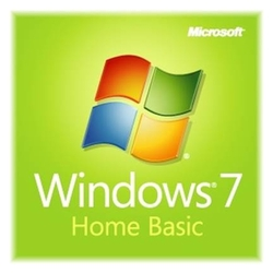 Операционная система Microsoft Windows 7 Home Basic 32bit, Rus, OEM (F2C-00201)