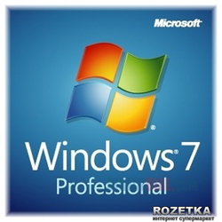 Windows 7 SP1 Professional 64-bit Russian 1pk OEM DVD (FQC-08297)