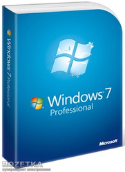 Windows 7 Professional Ukrainian DVD BOX (FQC-00301)