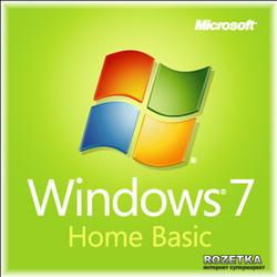 Windows 7 SP1 Home Basic 64-bit Russian CIS-Georgia 1pk OEM DVD (F2C-01531)