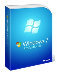 Операционная система Microsoft Windows 7 Professional Ukrainian BOX (FQC-00301)