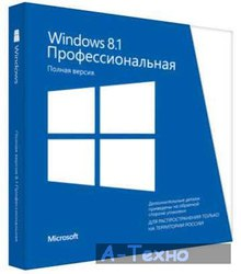 Microsoft OEM Windows 8.1 Professional Ukrainian x64 (FQC-06996)