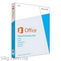 Программное обеспечение Microsoft Office 2013 (T5D-01783) (Home and Business, 32/ 64-bit, Ukr, 1pk DVD, BOX)