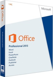 Microsoft Office Professional 2013 - 32/64-bit - English - CEE Only EM DVD (269-16119)