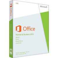 Программное обеспечение Microsoft Office 2013 (79G-03738) Home and Student,  32/ 64-bit,  Rus,  1pk DVD,  BOX