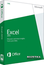 Excel 2013 32/64 EN EM PKL Online DwnLd C2R NonCmcl NR (AAA-04267)