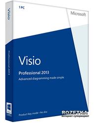 Visio Pro 2013 32/64 UK PKL Online DwnLd C2R NR (AAA-02277)