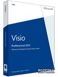 Visio Pro 2013 32/64 RU PKL Online DwnLd C2R NR (AAA-02272)