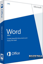 Word 2013 32/64 EN EM PKL Online DwnLd C2R NonCmcl NR (AAA-04351)