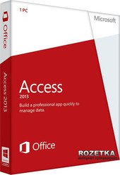 Access 2013 32/64 EN PKL Online DwnLd C2R NR на 1 ПК (электронная лицензия) (AAA-01148)