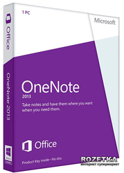 OneNote 2013 32/64 UK EM PKL Online DwnLd C2R NonCmcl NR (AAA-04346)