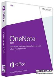 OneNote 2013 32/64 RU PKL Online DwnLd C2R NR (AAA-01479)