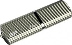 Marvel M50 128 GB Champagne (128 Гб, USB 3.0, скорость чтения 90 Мб/с, скорость записи 60 Мб/с, материал корпуса: металл, золотистый) [SP128GBUF3M50V1C]