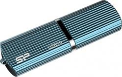 Marvel M50 128 GB Blue (128 Гб, USB 3.0, скорость чтения 90 Мб/с, скорость записи 60 Мб/с, материал корпуса: металл, синий) [SP128GBUF3M50V1B]