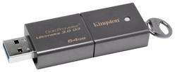 DataTraveler Ultimate 3.0 G3 64GB (64 Гб, USB 3.0, скорость чтения 150 Мб/с, скорость записи 70 Мб/с, материал корпуса: метал) [DTU30G3/64GB]