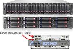 HP P2000G3 MSA FC/ iSCSI DC LFF Array (AW567A)