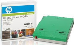 HP C7974W Ultrium 4 1.6TB WORM Data Cartrige
