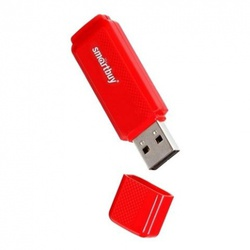 Dock 16 Gb Red (16 Gb, USB 3.0, красный) [SB16GBDK-R]