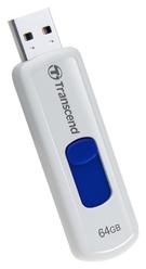 JetFlash 530 64Gb White (64 Гб, USB 2.0, скорость чтения 32 Мб/с, скорость записи 18 Мб/с) [TS64GJF530]