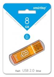 Glossy series (8 Gb/USB 2.0/оранжевый) [SB8GBGs-Or]