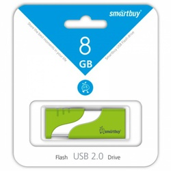 Hatch (8 Gb/USB 2.0/зеленый) [SB8GBHTH-G]