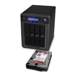 Система хранения данных Western Digital My Cloud EX4 (WDBWWD0000NBK-EESN)