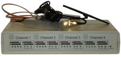 GSM VoIP шлюз KTS 4M-1i, SIP, 4 GSM канала, sim сервер на 16 карт, антенный сплиттер