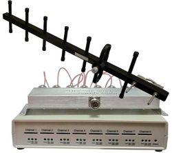 GSM VoIP шлюз KTS 8SM-2, SIP, 8 GSM каналов, 1 sim карта на 1 канал, 1 сплиттер антенна Yaggi 9 db