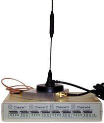 GSM VoIP шлюз KTS 4M-2i, SIP, 4 GSM канала, sim сервер на 16 карт, антенный сплиттер, Yaggi