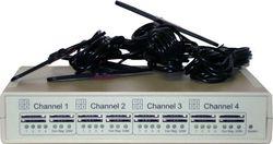 GSM VoIP шлюз KTS 4M-3i, SIP, 4 GSM канала, sim сервер на 16 карт, 4 антенны
