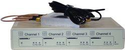 GSM VoIP шлюз KTS 4SM-1i, SIP, 4 GSM канала, 1 sim на канал, антенный сплиттер, 1 антенна Бабочка